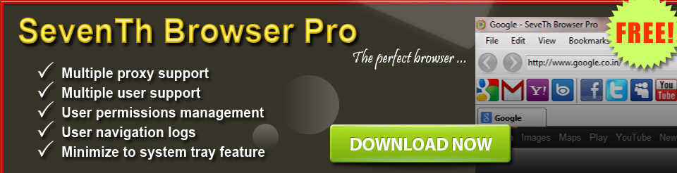 SevenTh browser Pro